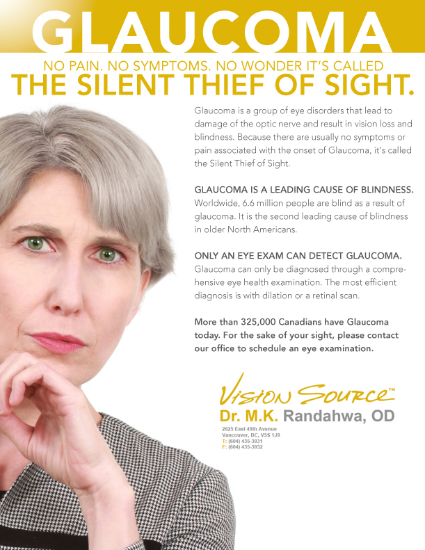 Glaucoma - the silent thief of sight
