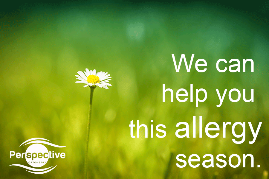 We can help with your eye allergies this allergy season